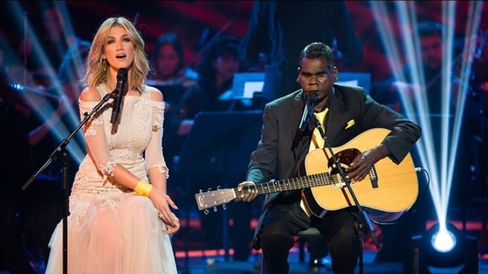Gurrumul & Delta Goodrem – Bayini (The Voice Australia, Season 2)
